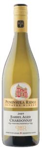 Peninsula Ridge Barrel Aged Chardonnay 2009, VQA Niagara Peninsula Bottle