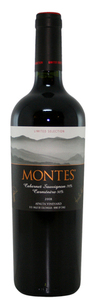 Montes Limited Selection Cabernet Sauvignon/Carmenère 2008, Colchagua Valley Bottle