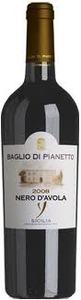 Baglio Di Pianetto Y Nero D'avola 2008, Igt Sicilia Bottle