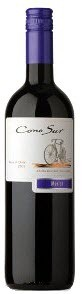 Cono Sur Bicycle Merlot 2009, Central Valley Bottle