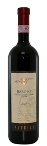 Patrizi Barolo 2006, Docg Bottle