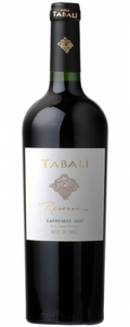 Tabalí Reserva Carmenère 2008, Limarí Valley Bottle
