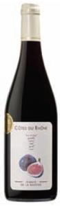 Domaine De La Bastide Cuvée Les Figues Côtes Du Rhône 2009, Ac Bottle