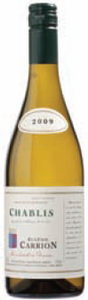 Domaine Eugénie Carrion Chablis 2009, Ac Bottle