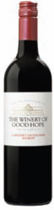 The Winery Of Good Hope Cabernet Sauvignon/Merlot 2009, Wo Stellenbosch Bottle