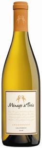 Ménage À Trois Chardonnay 2008, California Bottle