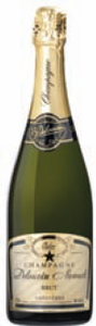 Delouvin Nowack Carte D'or Brut Champagne Bottle