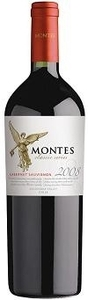 Montes Classic Series Cabernet Sauvignon 2009, Colchagua Valley Bottle