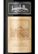 Inniskillin Legacy Cabernet Franc 2007, Niagara Peninsula Bottle