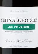 Domaine Henri Gouges Les Pruliers 1er Cru 2007, Nuits Saint Georges Bottle