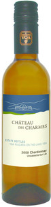 Château Des Charmes Chardonnay Unoaked Sur Lie 2008, VQA Niagara On The Lake (375ml) Bottle