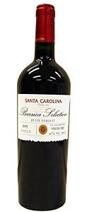 Santa Carolina Barrica Selection Petit Verdot 2005 Bottle
