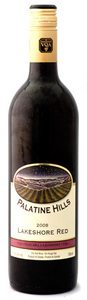 Palatine Hills Estate Winery VQA Lakeshore Red (1.5l) 2008, Ontario Bottle