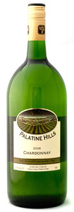 Palatine Hills Estate Winery VQA Chardonnay (Unoaked) (1.5l) 2008, Ontario Bottle