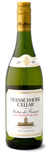 Franschhoek Vineyards Sauvignon Blanc 2009, Franschhoek Bottle