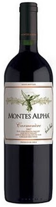 Montes Alpha Carmenère 2008, Colchagua Valley Bottle