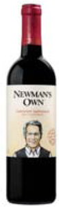 Newman's Own Cabernet Sauvignon 2007, California Bottle