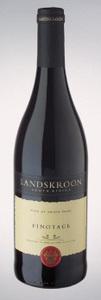 Landskroon Wines Pinotage 2008, Paarl Bottle