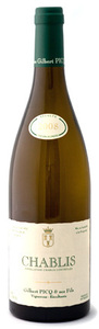 Gilbert Picq Aoc Chablis 2008, Bourgogne Bottle