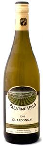 Palatine Hills Estate Winery VQA Chardonnay (Unoaked) 2008, Niagara Bottle