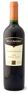 Valle Andino Cabernet Sauvignon 2008, Central Valley Bottle