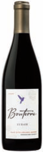 Bonterra Syrah 2007, Mendocino County, Made From Organic Grapes Bottle