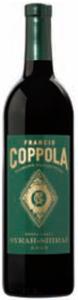 Francis Coppola Diamond Collection Green Label Syrah Shiraz 2008, California Bottle