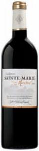 Château Sainte Marie Le Moulin 2008, Ac Premières Côtes De Bordeaux Bottle