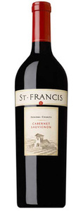 St. Francis Cabernet Sauvignon 2006, Sonoma County Bottle