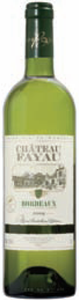 Château Fayau Blanc 2009, Ac Bordeaux Bottle
