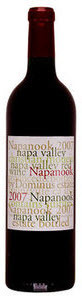 Dominus Napanook 2007, Napa Valley Bottle