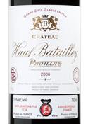 Château Haut Batailley 2006, Ac Pauillac 5e Cru Bottle