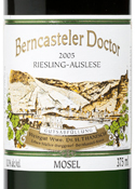 Dr. H. Thanisch Riesling Auslese 2005, Qmp, Berncasteler Doctor (375ml) Bottle