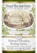 Max Ferd. Richter Riesling Auslese 2006, Qmp, Veldenzer Elisenberg (375ml) Bottle