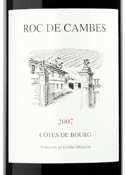 Roc De Cambes 2007, Ac Côtes De Bourg Bottle