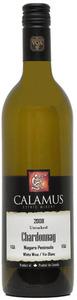 Calamus Unoaked Chardonnay 2008, VQA Niagara Peninsula Bottle