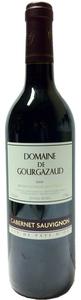 Domaine De Gourgazaud Cabernet Sauvignon 2009, Vins De Pays D'oc Bottle