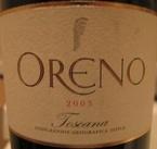 Tenuta Sette Ponte, Oreno 2003 Bottle