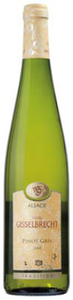 Willy Gisselbrecht Pinot Gris 2008, Ac Alsace Bottle