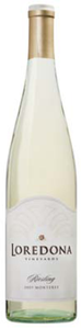 Loredona Riesling 2009, Monterey County Bottle