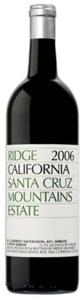 Ridge Santa Cruz Mountains Estate 2006, Santa Cruz Mountains Bottle