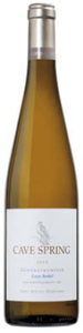Cave Spring Estate Bottled Gewürztraminer 2009, VQA Beamsville Bench, Niagara Peninsula Bottle