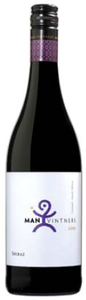 Man Vintners Shiraz 2009, Wo Coastal Region Bottle