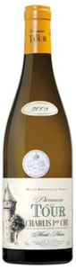 Domaine De La Tour Chablis Monts Main 1er Cru 2008, Ac Bottle