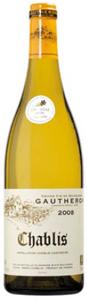 Domaine Gautheron Chablis 2008 Bottle