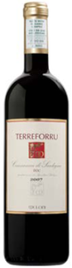 Meloni Terreforru Cannonau Di Sardegna 2007, Doc Bottle