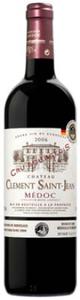 Château Clément Saint Jean 2006, Ac Médoc Bottle