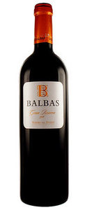 Balbas Gran Reserva 1996 Bottle