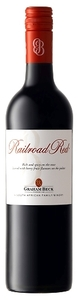 Graham Beck Railroad Red Shiraz Cabernet Sauvignon 2008, Western Cape Bottle
