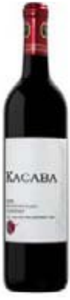 Kacaba Proprietors Blend Silver Bridge Cabernet 2005 Bottle